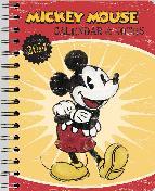 agenda 2014 mickey retro agenda + notas 16x21cm-4002725767394