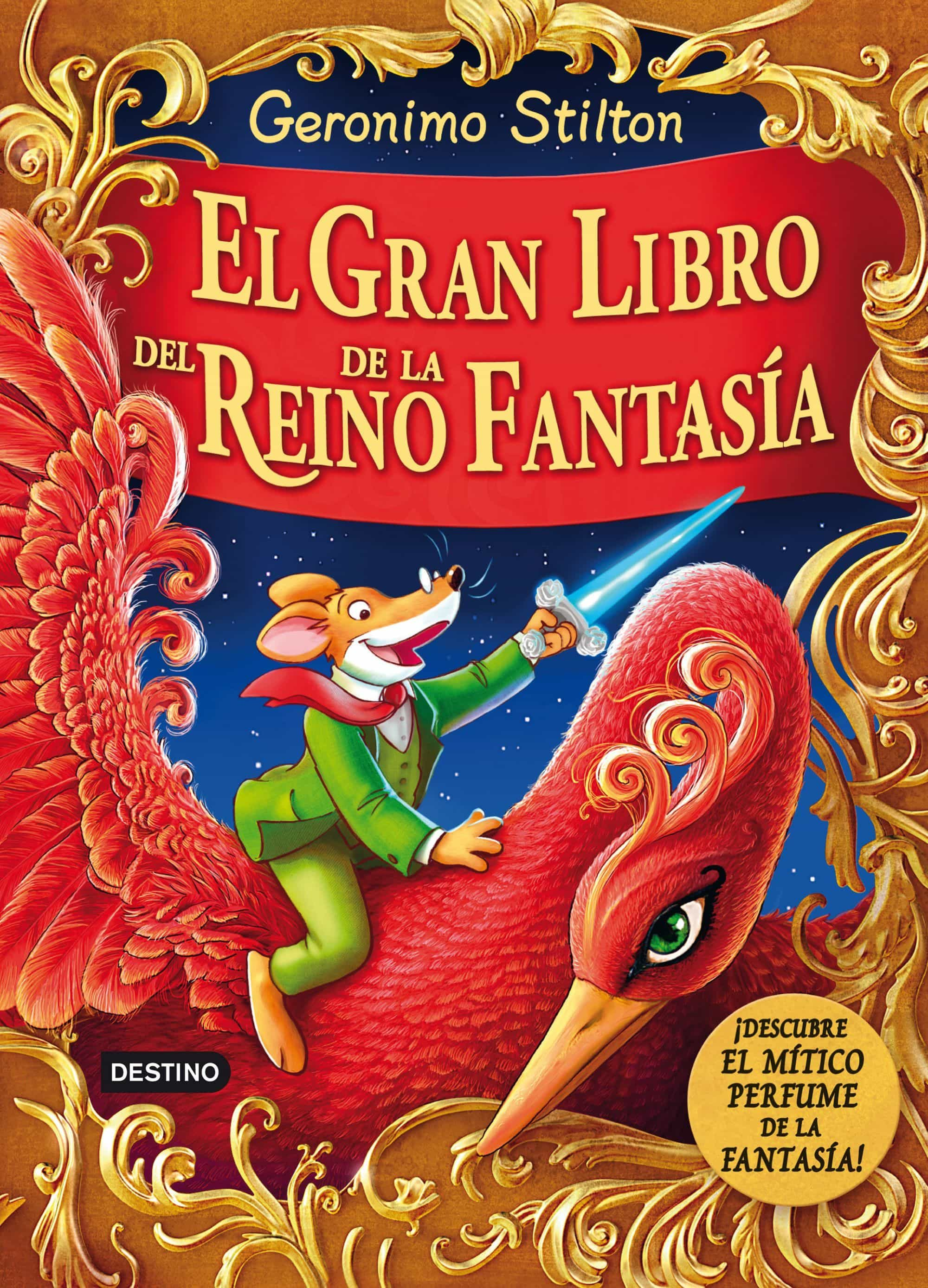 el gran libro del reino de la fantasia-geronimo stilton-9788408132004