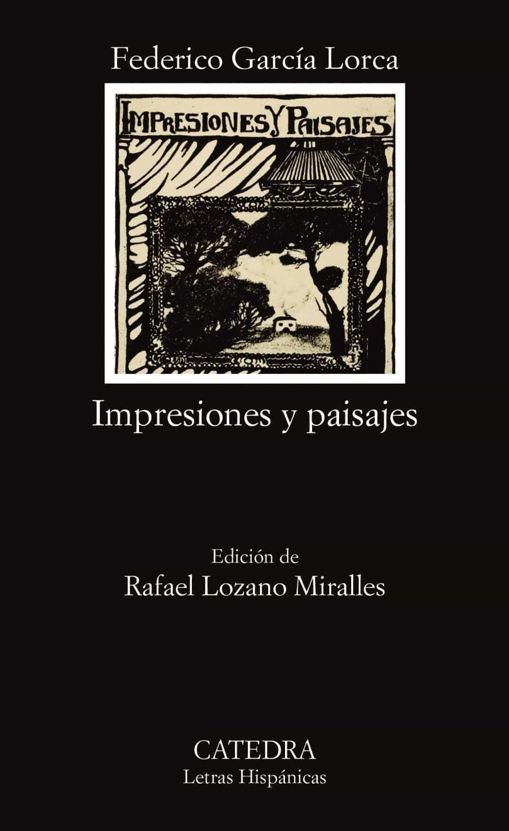 impresiones y paisajes-federico garcia lorca-9788437610504