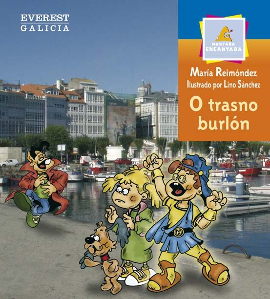 O Trasno Burlon. Comarca Da Coruña por Maria Reimondez epub