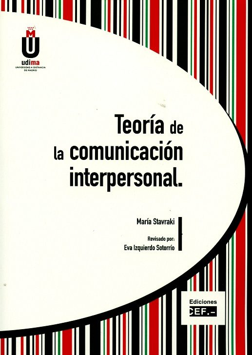 Teoría De La Comunicación Interpersonal por Maria Stavraki epub
