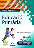 Cos De Mestres. Educacio Primaria Vol. Iii por Vv.aa. epub