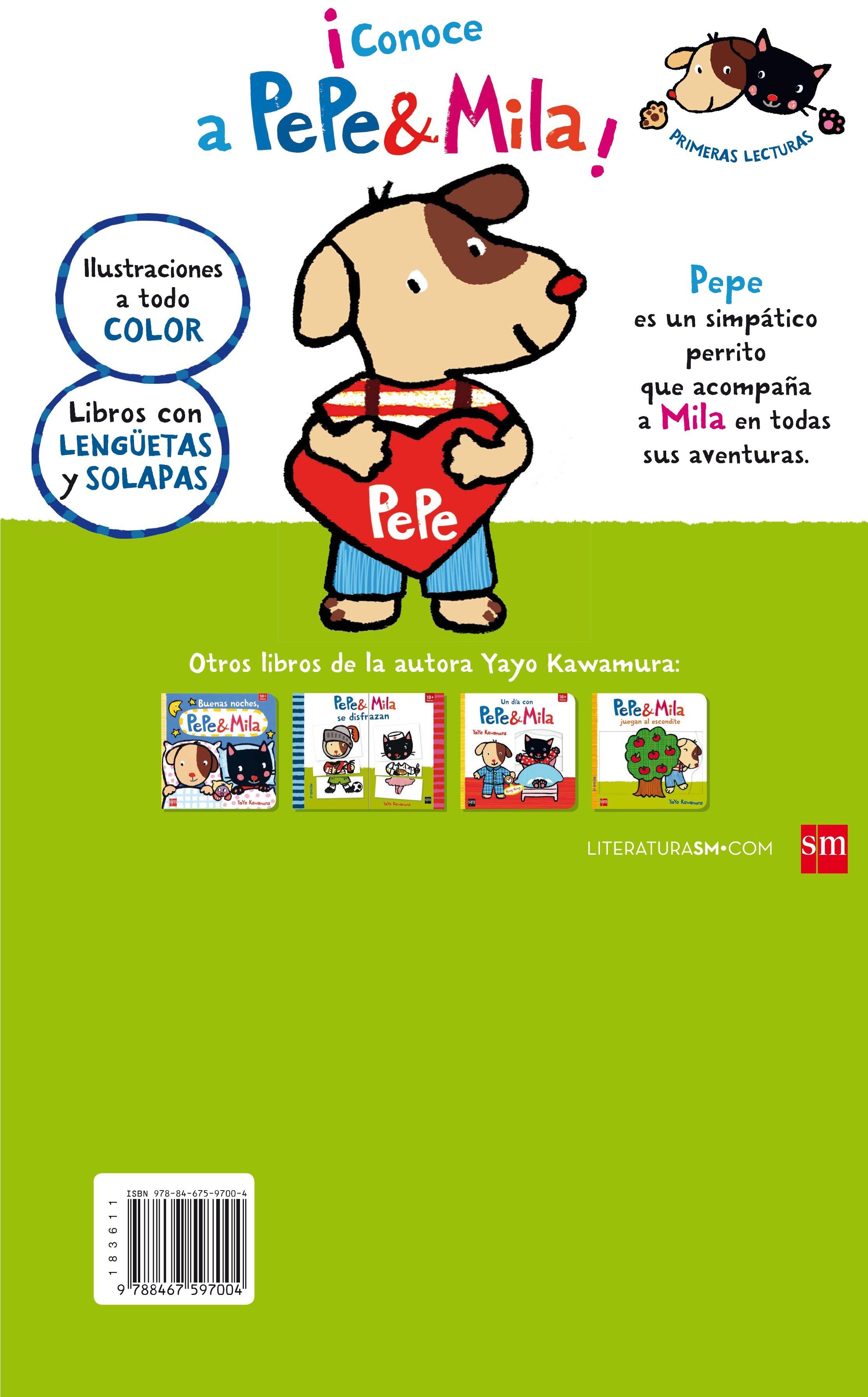 Pack Pepe ( Incluye Pepe Y Mila Pasan El Día En La Granja ) por Yayo Kawamura
