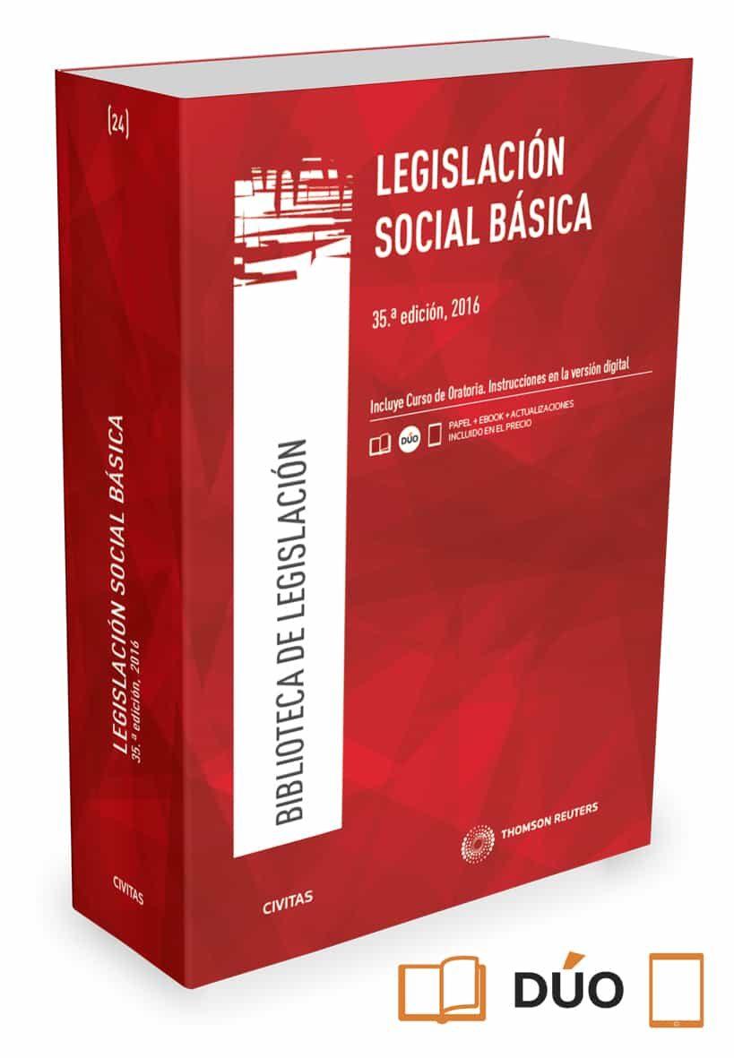 civitas: legislacion social basica (35ª ed.)-jose e. serrano martinez-9788491357704