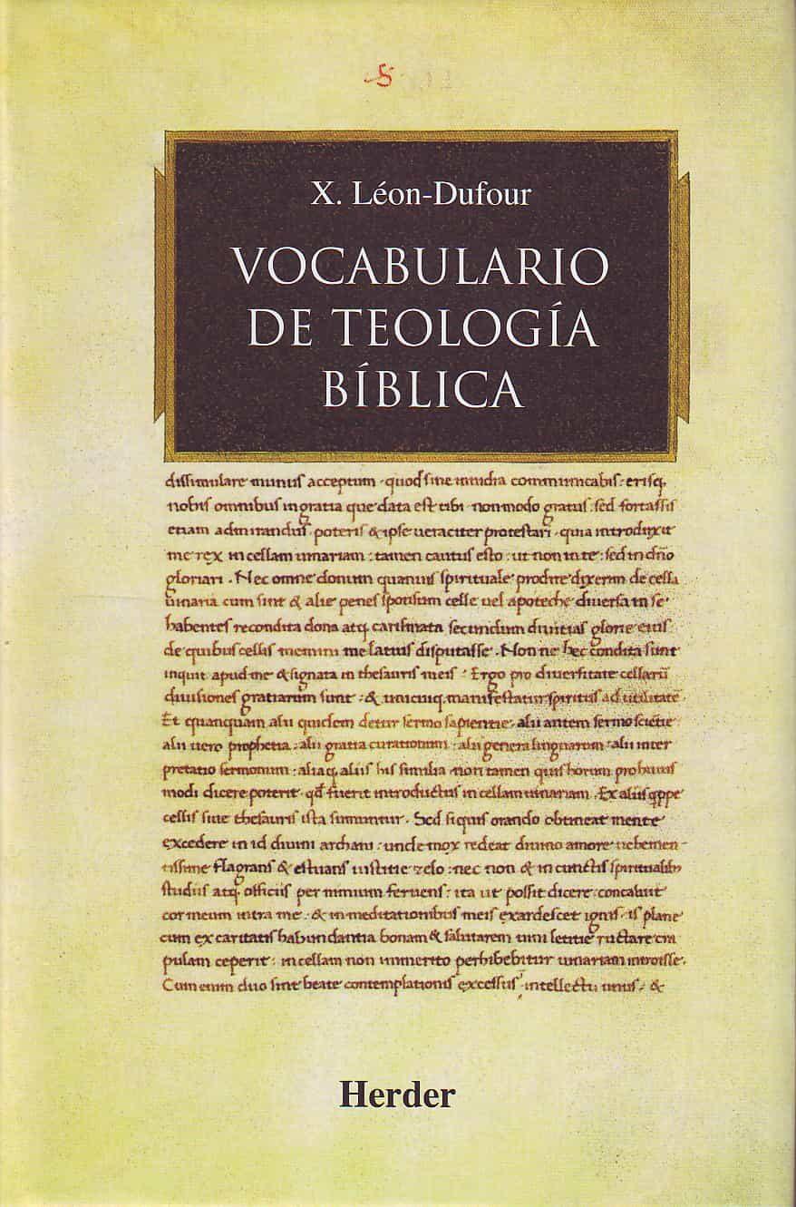 diccionario biblico leon dufour gratis espaol