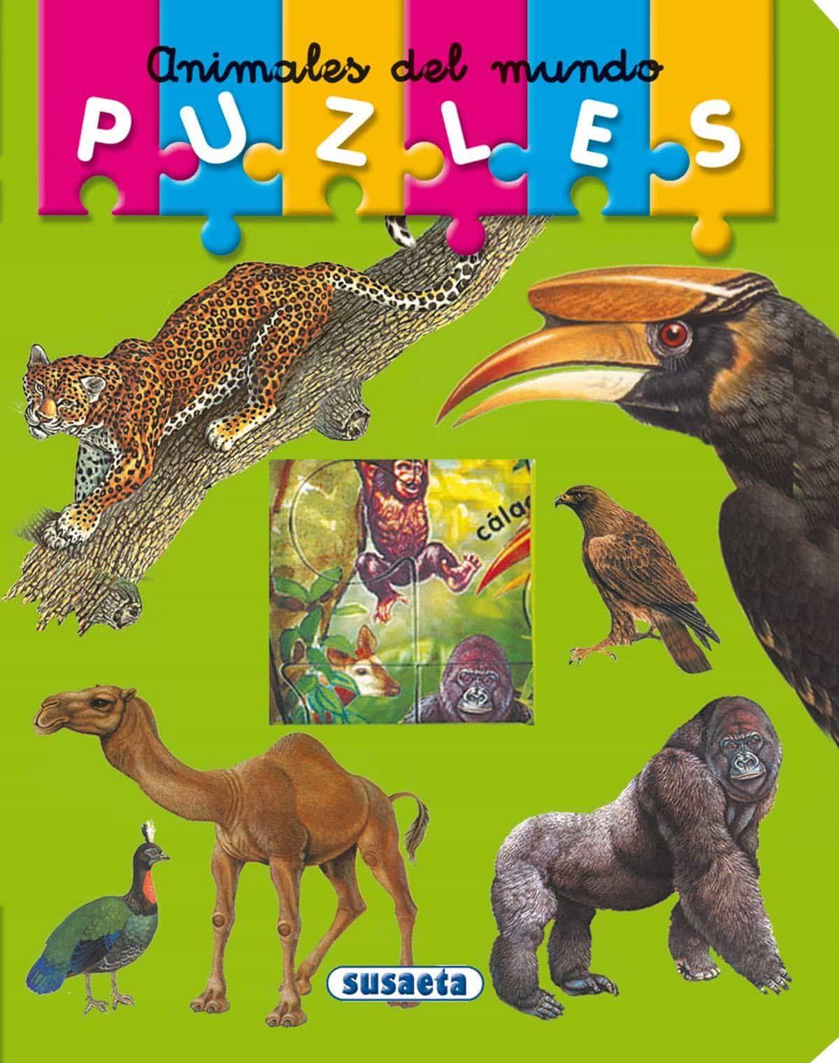 Animales Del Mundo , Puzzles por Vv.aa. epub