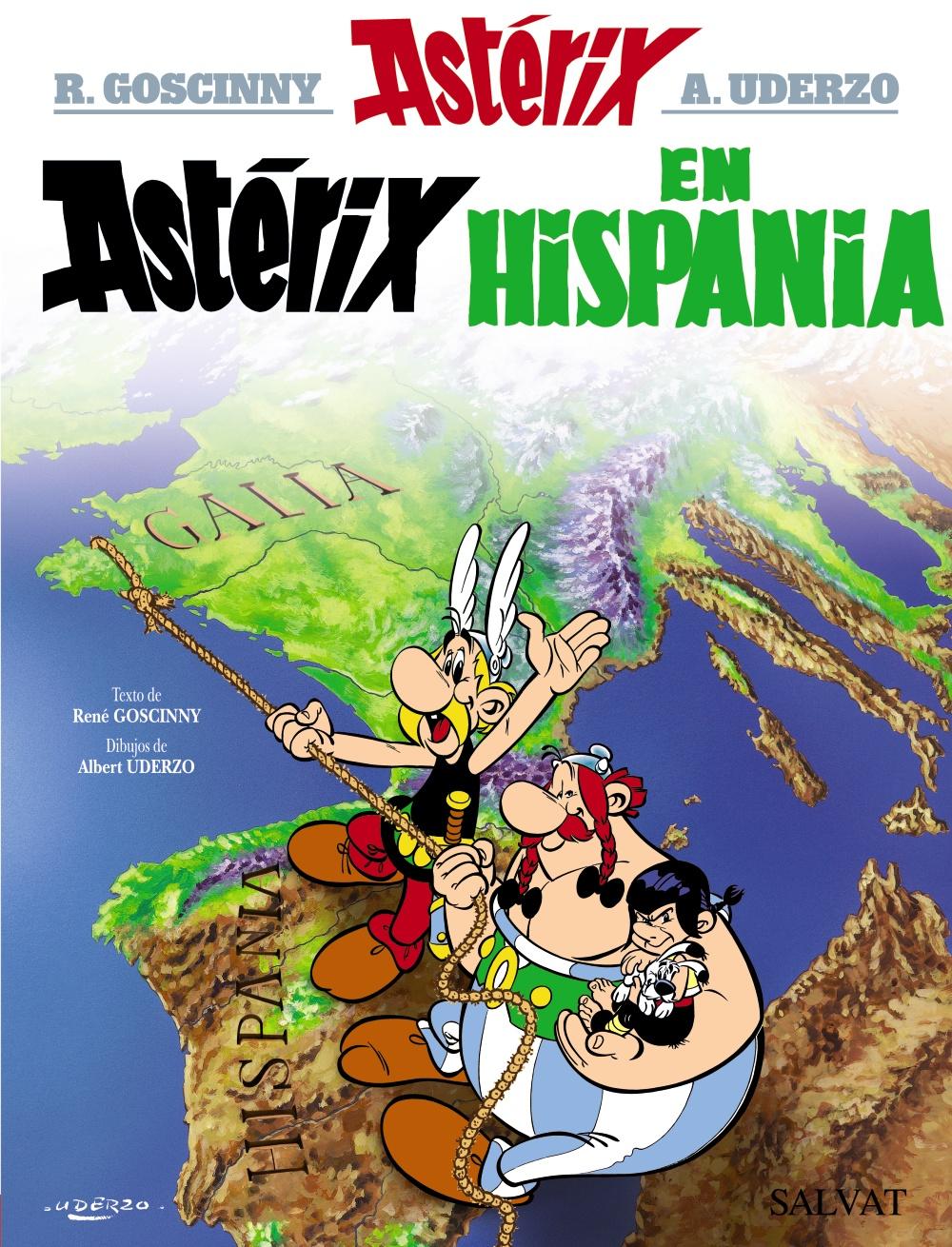 Astérix en Hispania,Goscinny; Uderzo,Salvat  tienda de comics en México distrito federal, venta de comics en México df