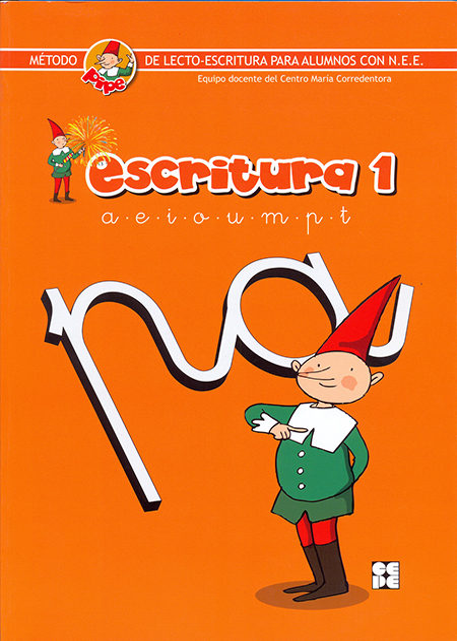 escritura pipe 1. metodo de lecto-escritura para alumnos con n.e. e.-9788478699414