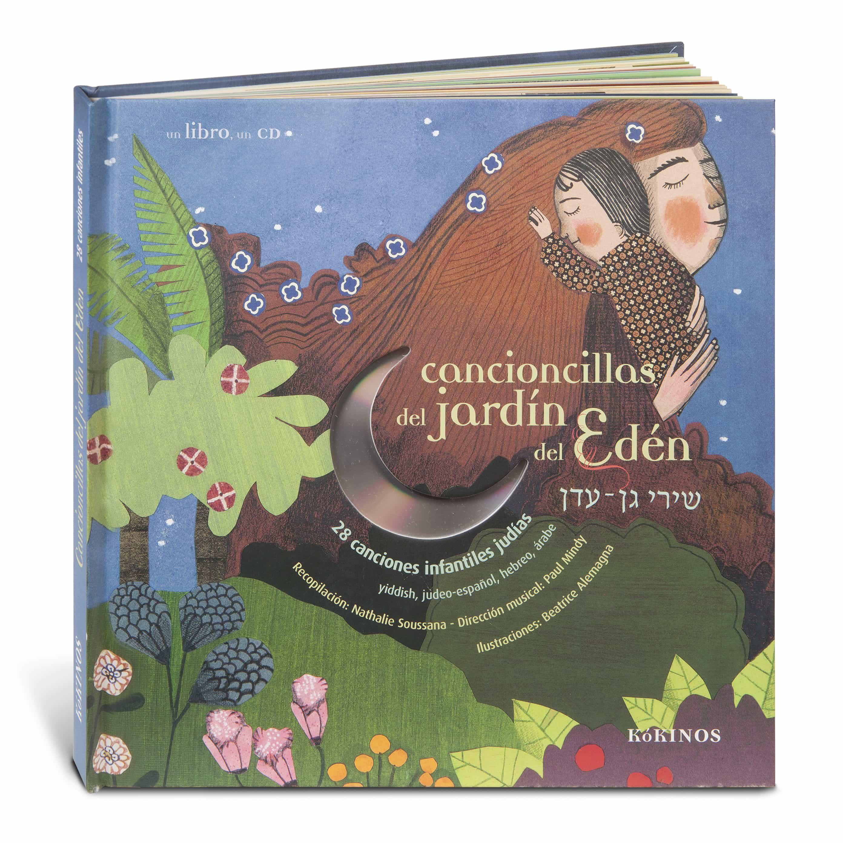 Cancioncillas Del Jardin Del Eden (con Cd) por Vv.aa.