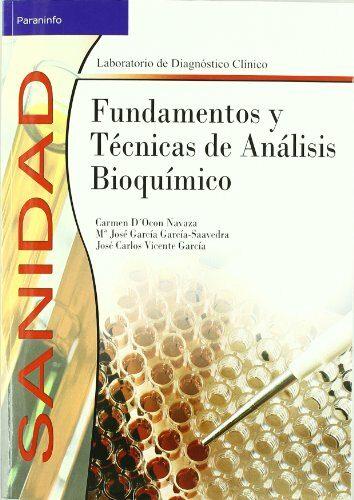 fundamentos y tecnicas de analisis bioquimico (ciclos formativos sanidad)-9788497323314
