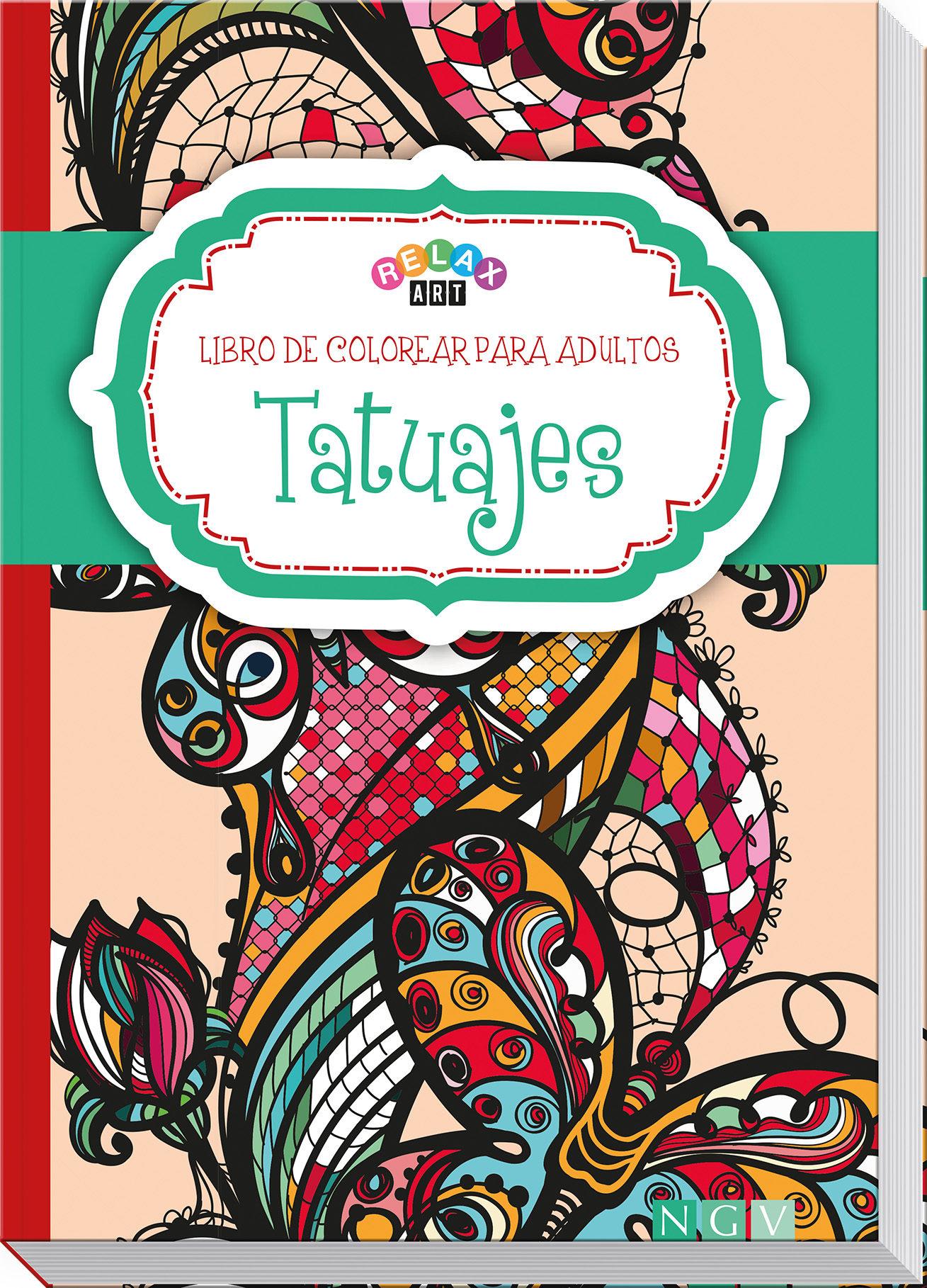 TATUAJES (COLOREAR PARA ADULTOS) | VV.AA. | Comprar libro 9783869416724
