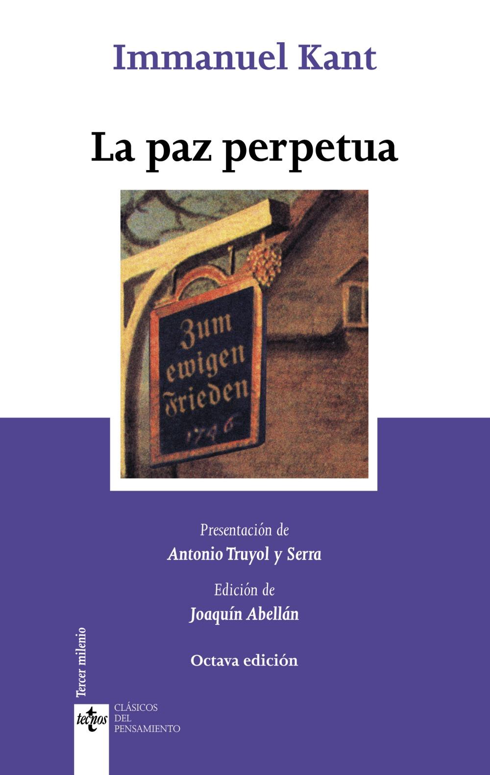 La Paz Perpetua Immanuel Kant 9788430955824