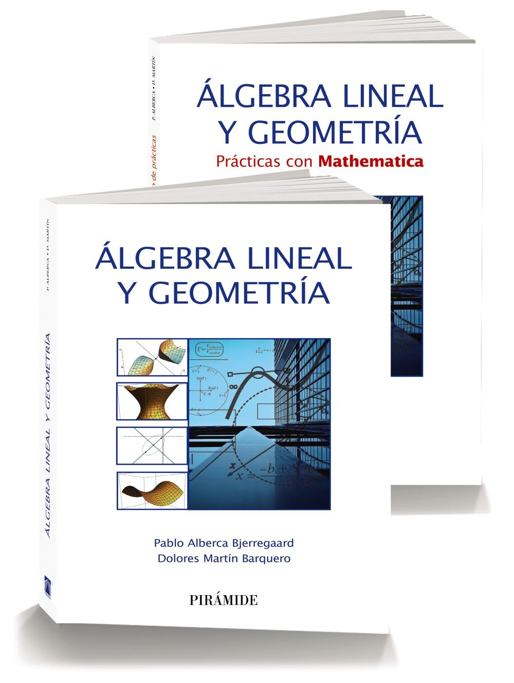 Pack-álgebra Lineal Y Geometría por Pablo Alberca Bjerregaard