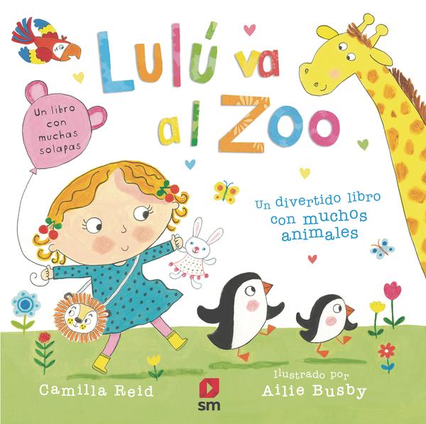 Lulu Va Al Zoo por Camilla Reid