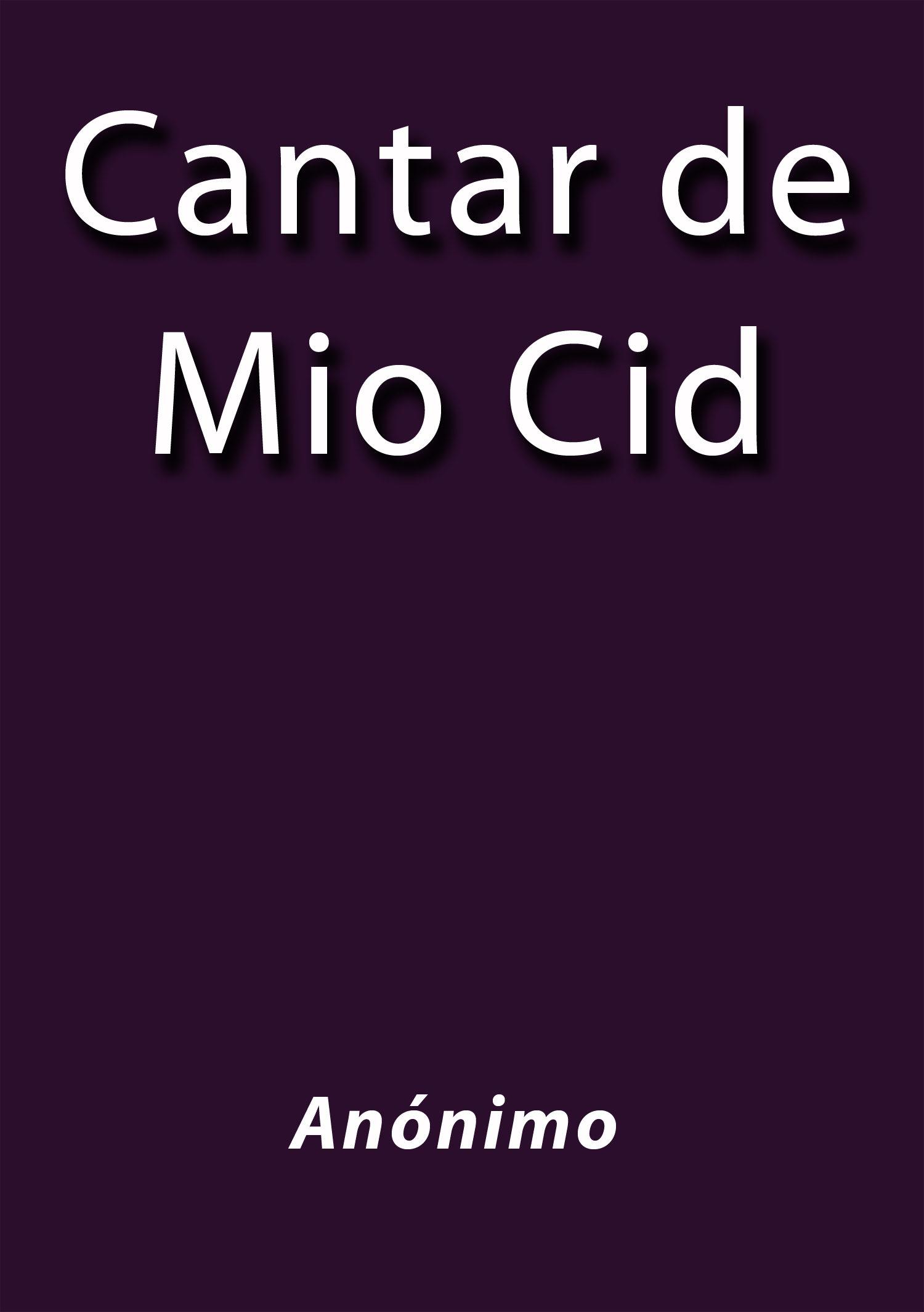 Cantar de mio cid ebook j borja cdlap00003424