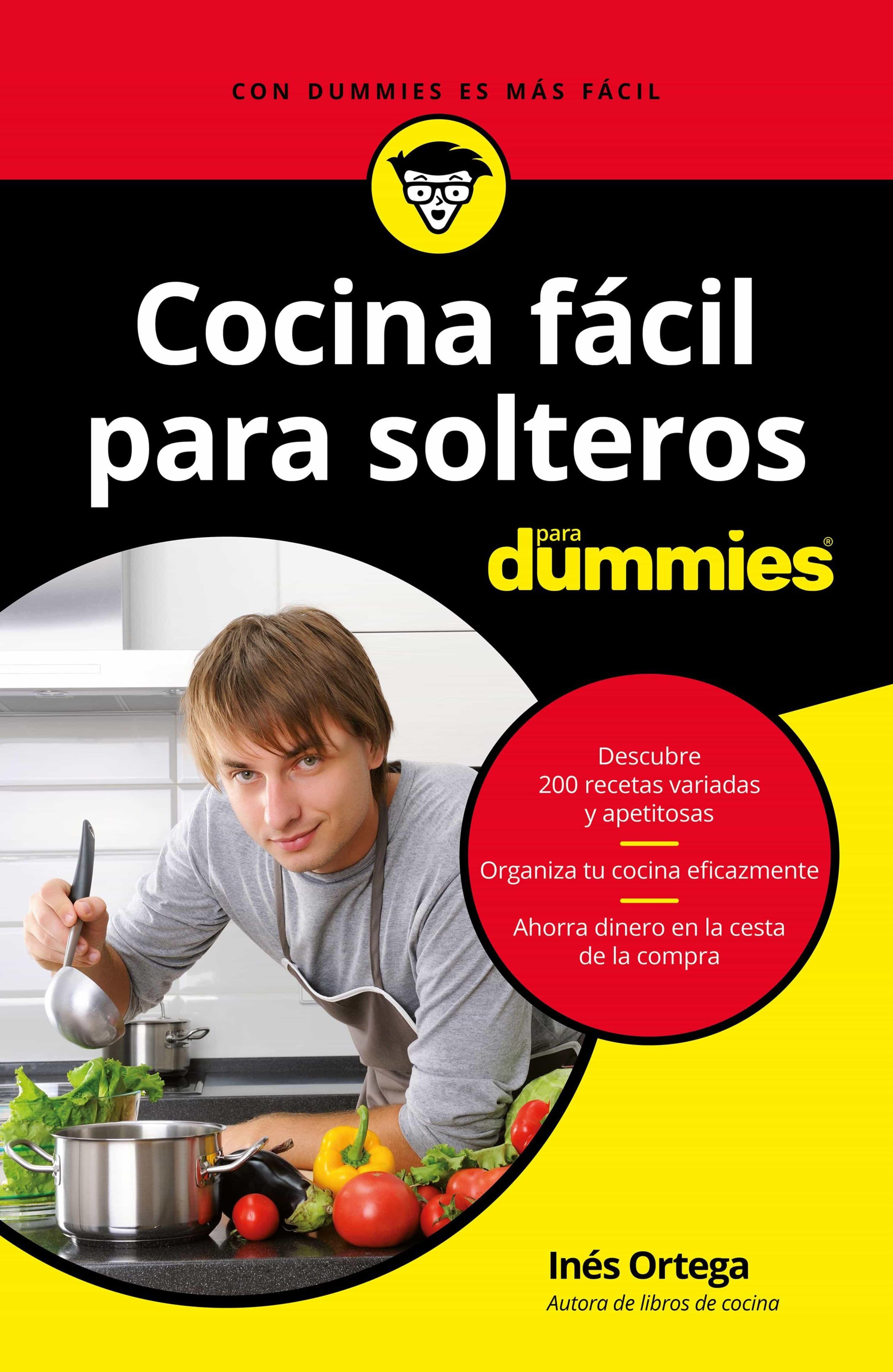 Cocina Fácil Para Solteros Para Dummies   por Ines Ortega