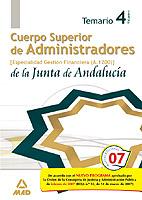 Cuerpo Superior De Administradores De La Junta De Andalucia: Espe Cialidad Administradores De Gestion Financiera (a1200): Temario (vol. Iv) por Vv.aa. epub