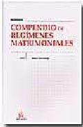 Compendio De Regimenes Matrimoniales por Vicente Simo Santonja epub