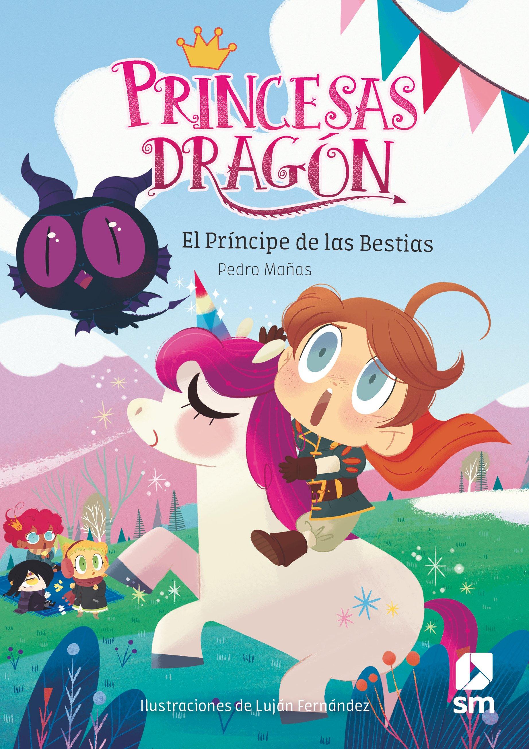 princesas dragón 8: el príncipe de las bestias-pedro mañas romero-9788491824534