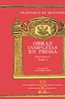 Obras Completas En Prosa (vol I; T. I) por Francisco De Quevedo