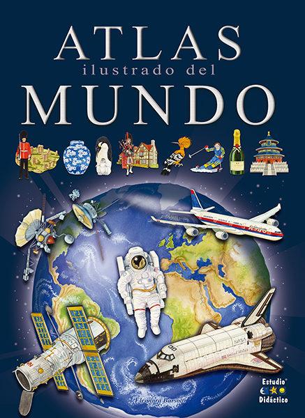 Atlas Ilustrado Del Mundo por Eleonora Barsotti