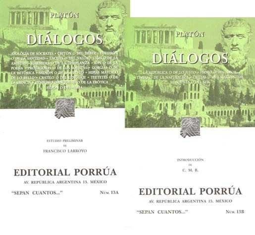 Dialogos (2 Vols.) (29ª Ed.) por Platon epub