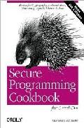 secure programming cookbook for c and c++-john viega-matt messier-9780596003944