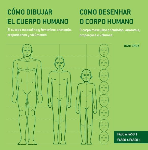 COMO DIBUJAR EL CUERPO HUMANO: ANATOMIA, PROPORCIONES Y VOLUMENES ...