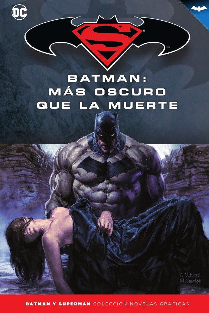 Batman Y Superman - Colección Novelas Gráficas Núm. 47: Batman: M Ás Oscuro Que La Muerte por Bruce Jones
