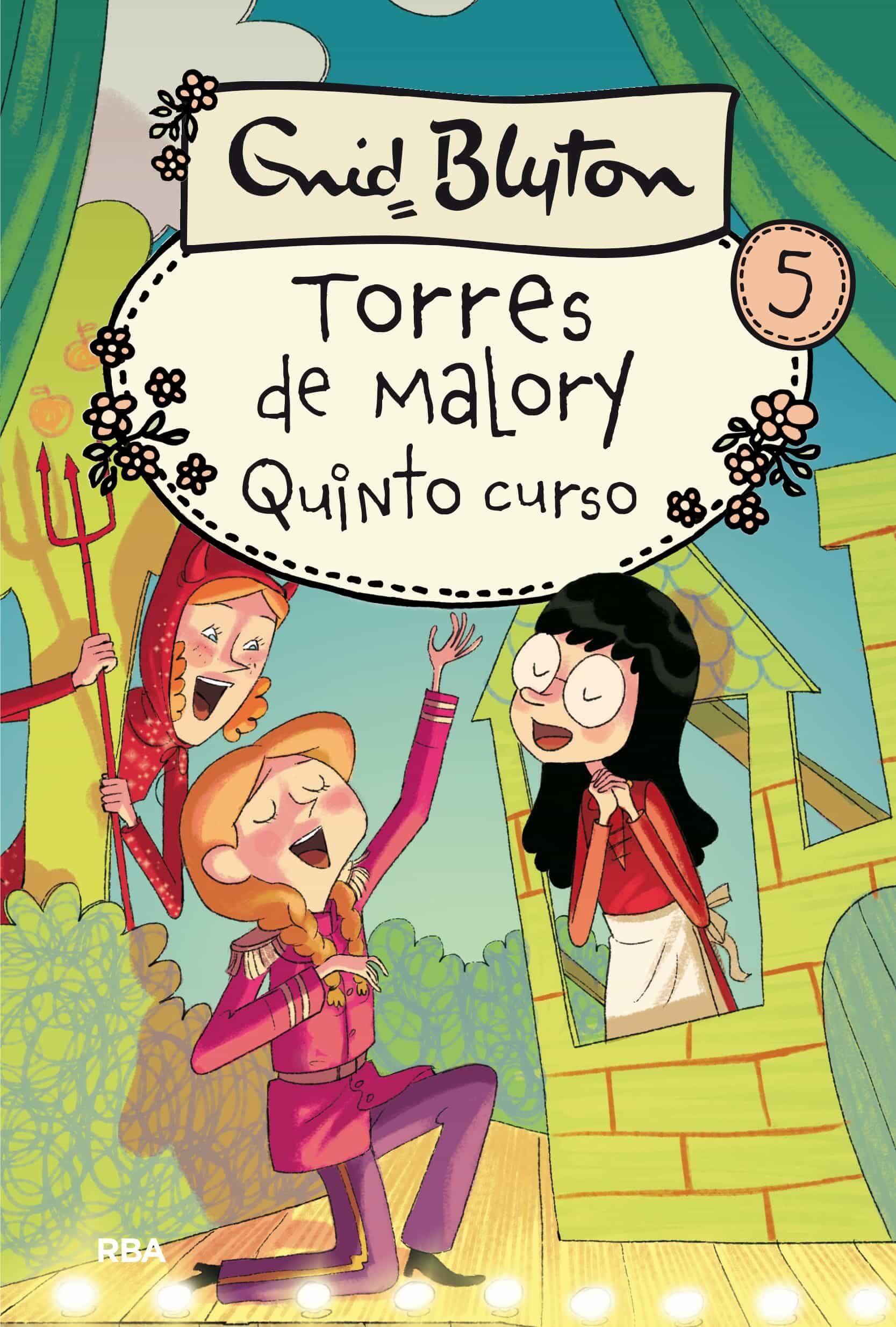 quinto grado en torres de malory (nueva edicion)-enid blyton-9788427203044