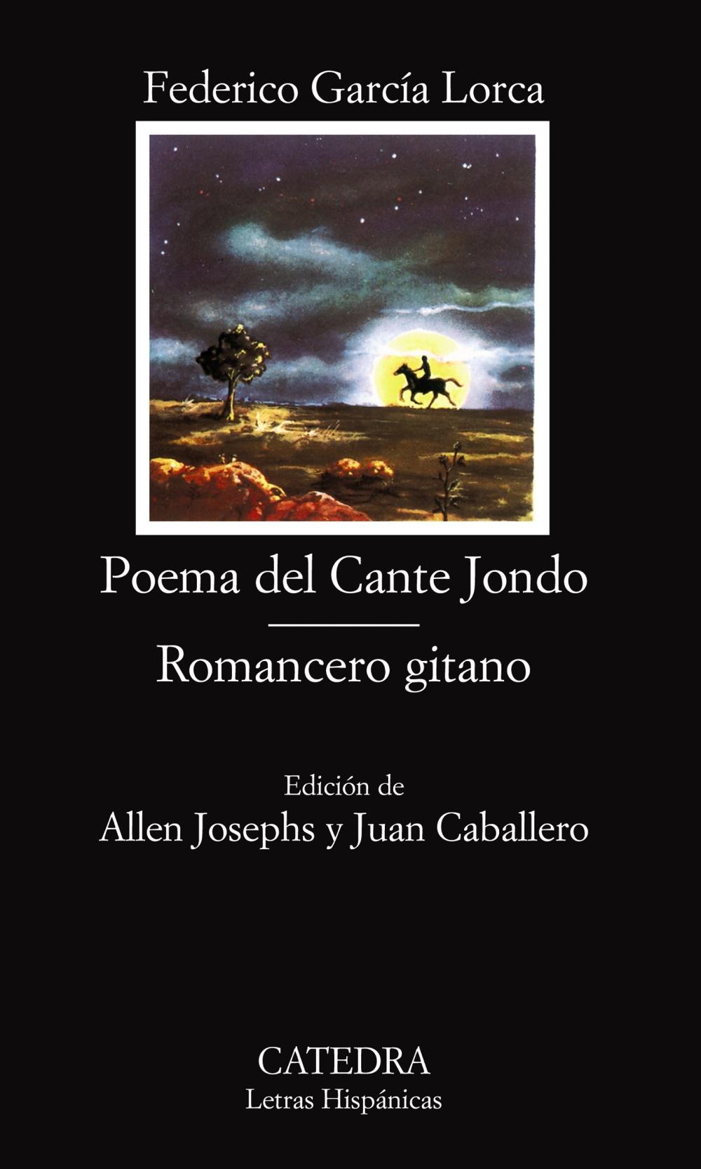 poema del cante jondo. romancero gitano (14ª ed.)-federico garcia lorca-9788437601144