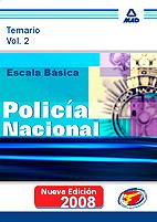Escala Basica De Policia Nacional: Temario (vol. Ii) por Vv.aa. Gratis