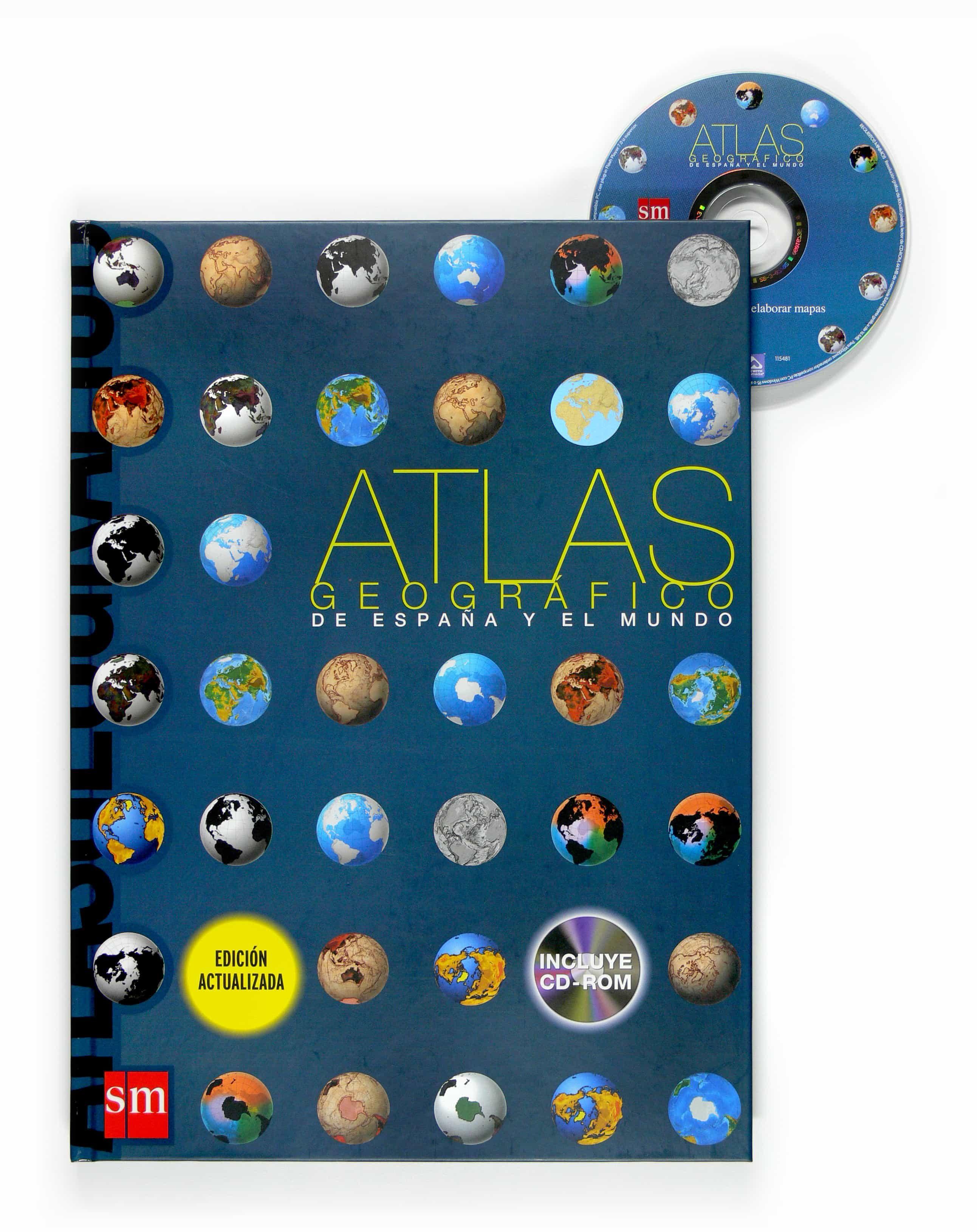Atlas Geografico De España Y El Mundo (incluye Cd-rom) por Vv.aa. epub