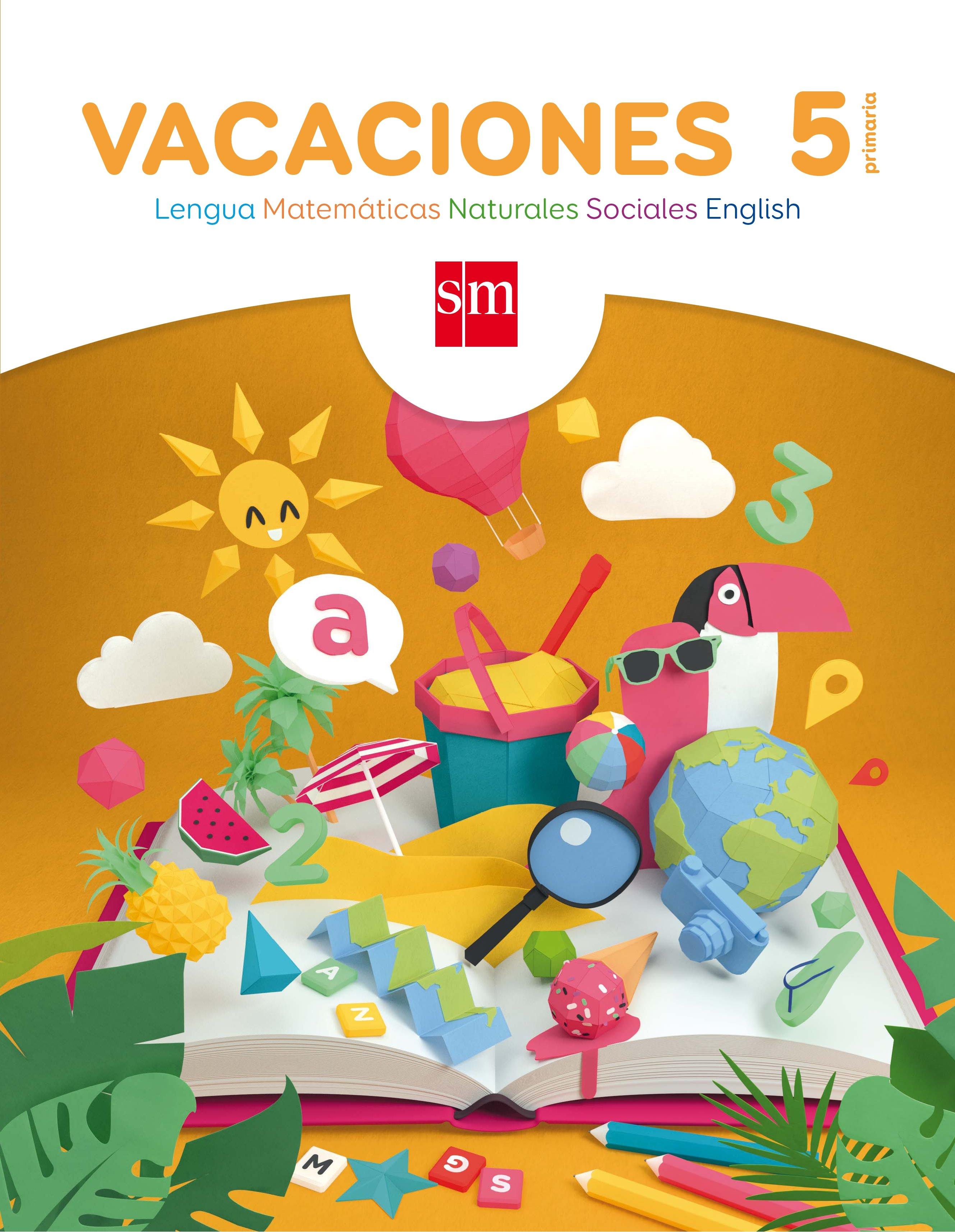 vacaciones 5º educacion primaria-catalina; bk publishing, arosa santos-9788467593044