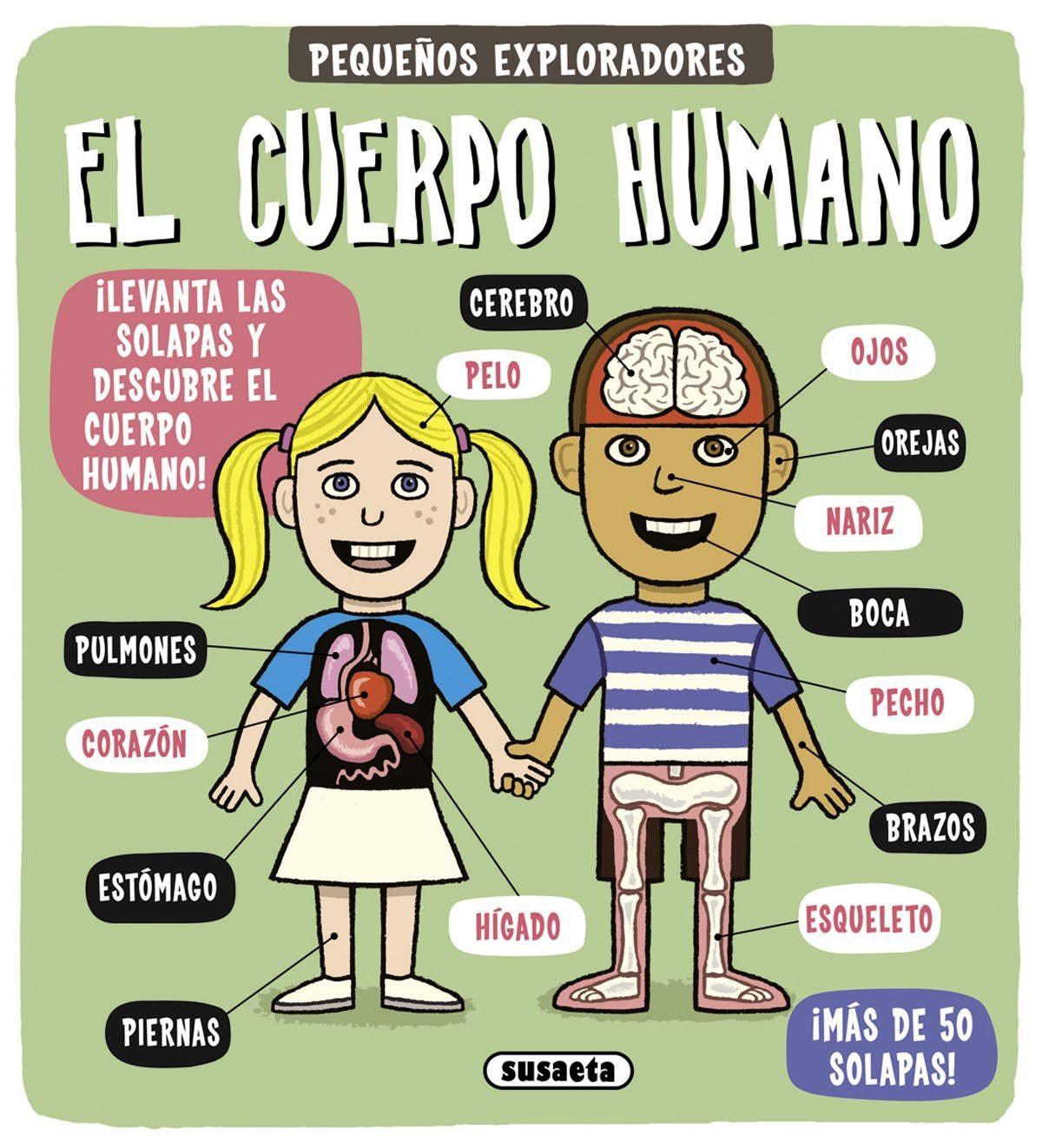 El Cuerpo Humano  (pequeños Exploradores) por Vv.aa.