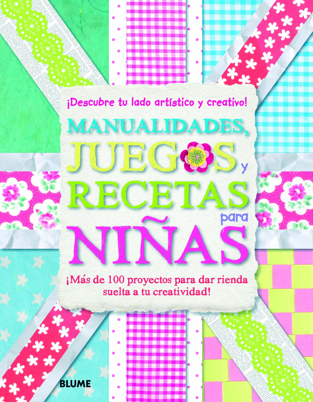 Manualidades Juegos Y Recetas Para Ninas Vvaa Comprar Libro - Manualidades-nias