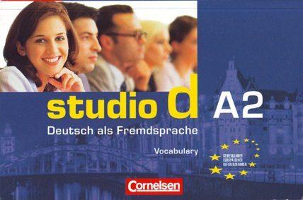 Studio D A2: Deutsch Als Fremsprache (vokabeltaschenbuch) por Vv.aa.