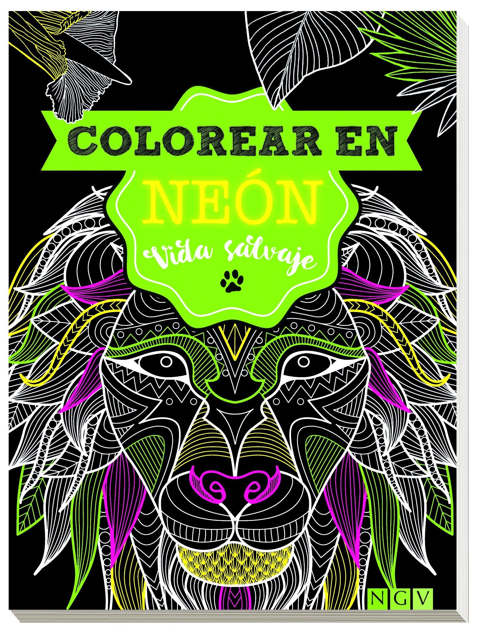 VIDA SALVAJE - COLOREAR EN NEON | VV.AA. | Comprar libro 9783625006954