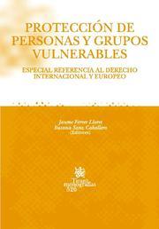Proteccion De Personas Y Grupos Vulnerables: Especial Referencia Al Derecho Internacional Y Europeo por Jaume Ferrer Lloret epub