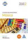 cuerpo de maestros musica. temario volumen 2-9788490931554