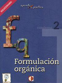 Formulacion Organica. Solucionario. Cuaderno 2 por Vv.aa. epub
