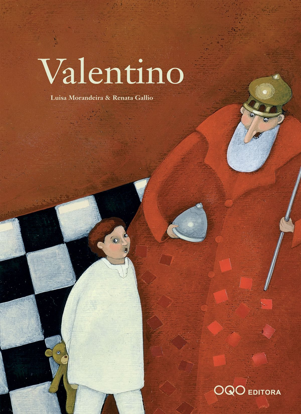 Valentino por Luisa Morandeira;                                                                                    Renata Gallio