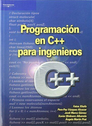 Programacion En C++ Para Ingenieros por Fatos Xhafa epub