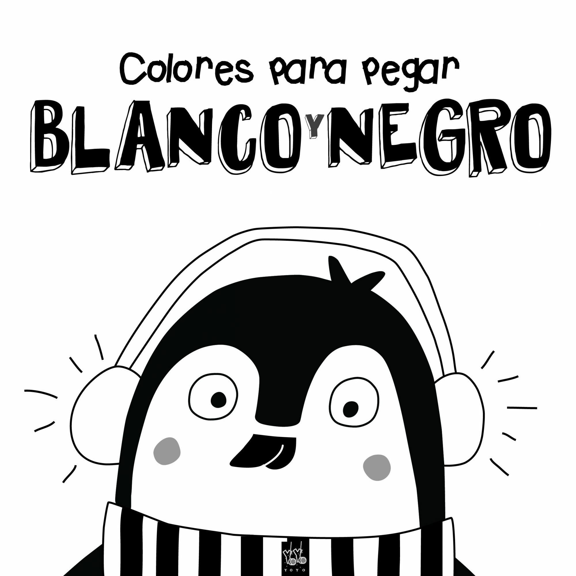 COLORES PARA PEGAR BLANCO Y NEGRO | VV.AA. | Comprar libro 9788408164364