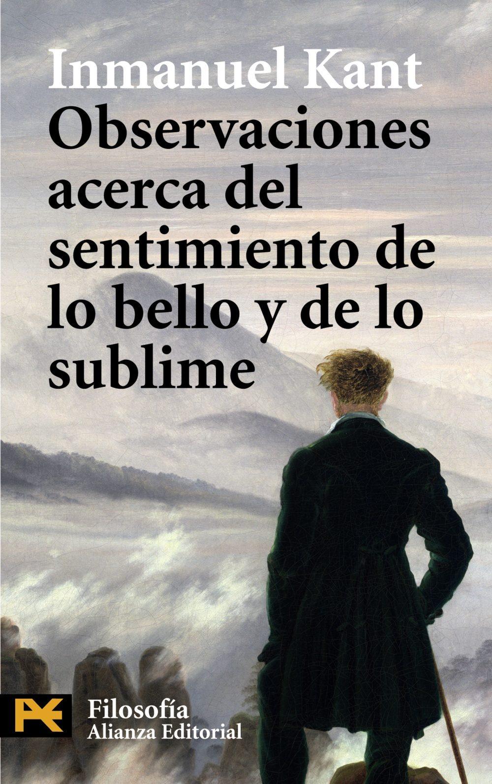 Observaciones Acerca Del Sentimiento De Lo Bello Y De Lo Sublime por Immanuel Kant epub
