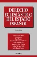 Derecho Eclesiastico Del Estado Español (6ª Ed.) por Vv.aa.