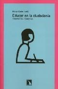 Educar En Ciudadania por Rosa Cobo epub