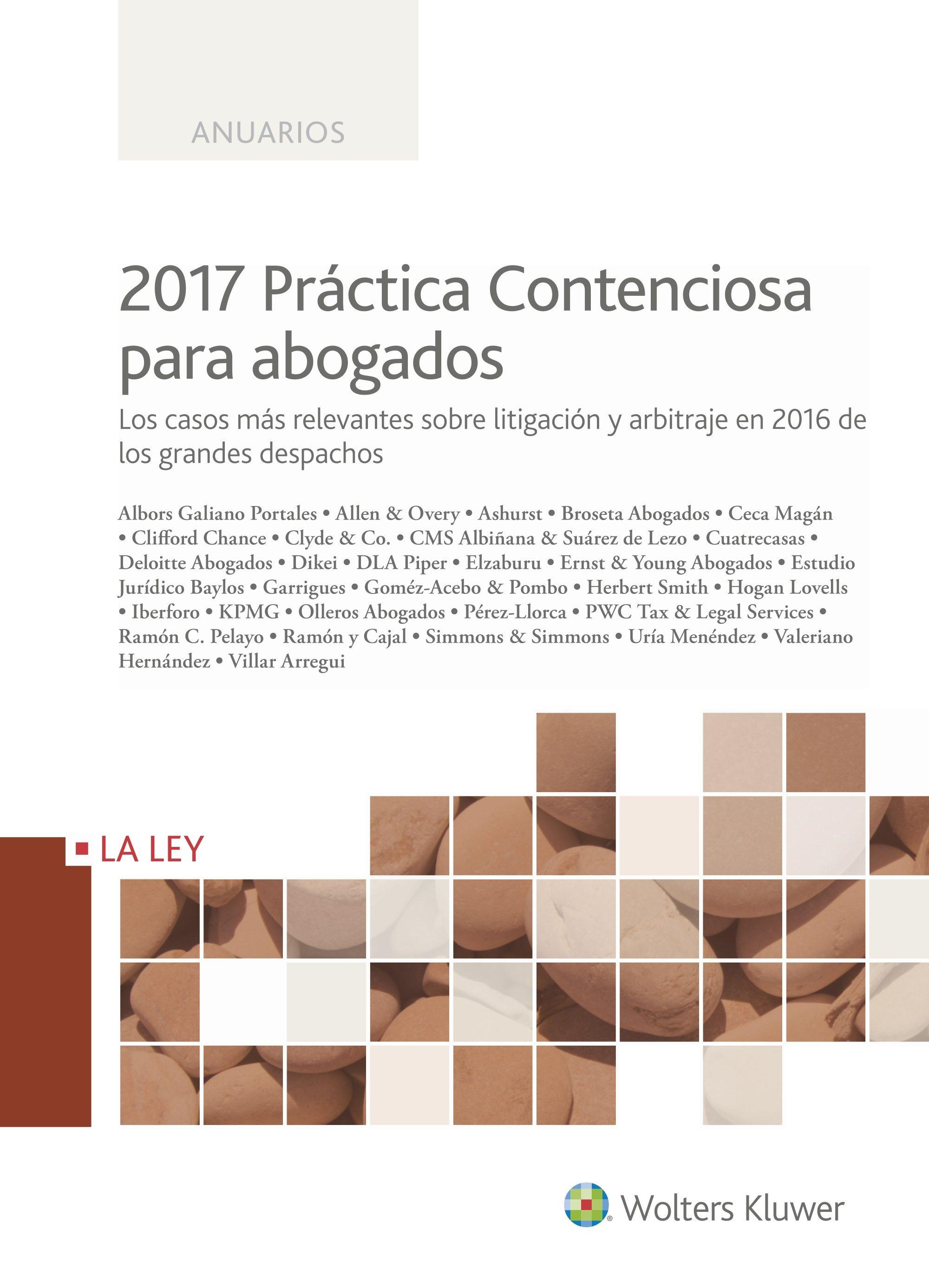 (i.b.d.) Práctica Contenciosa Para Abogados 2017 por Antonio Pipó Malgosa epub