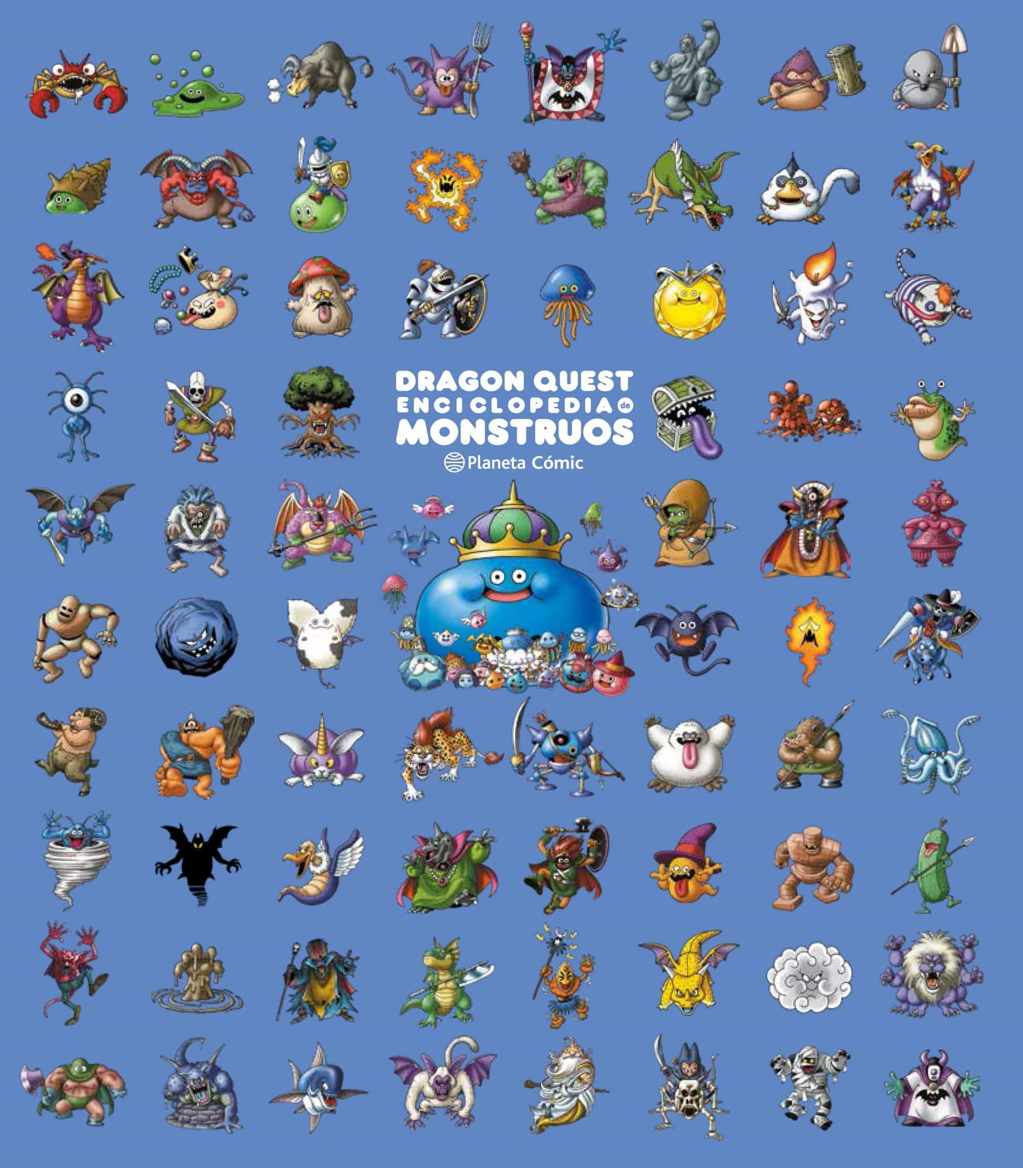 Dragon Quest Art Book Monsters por Akira Toriyama
