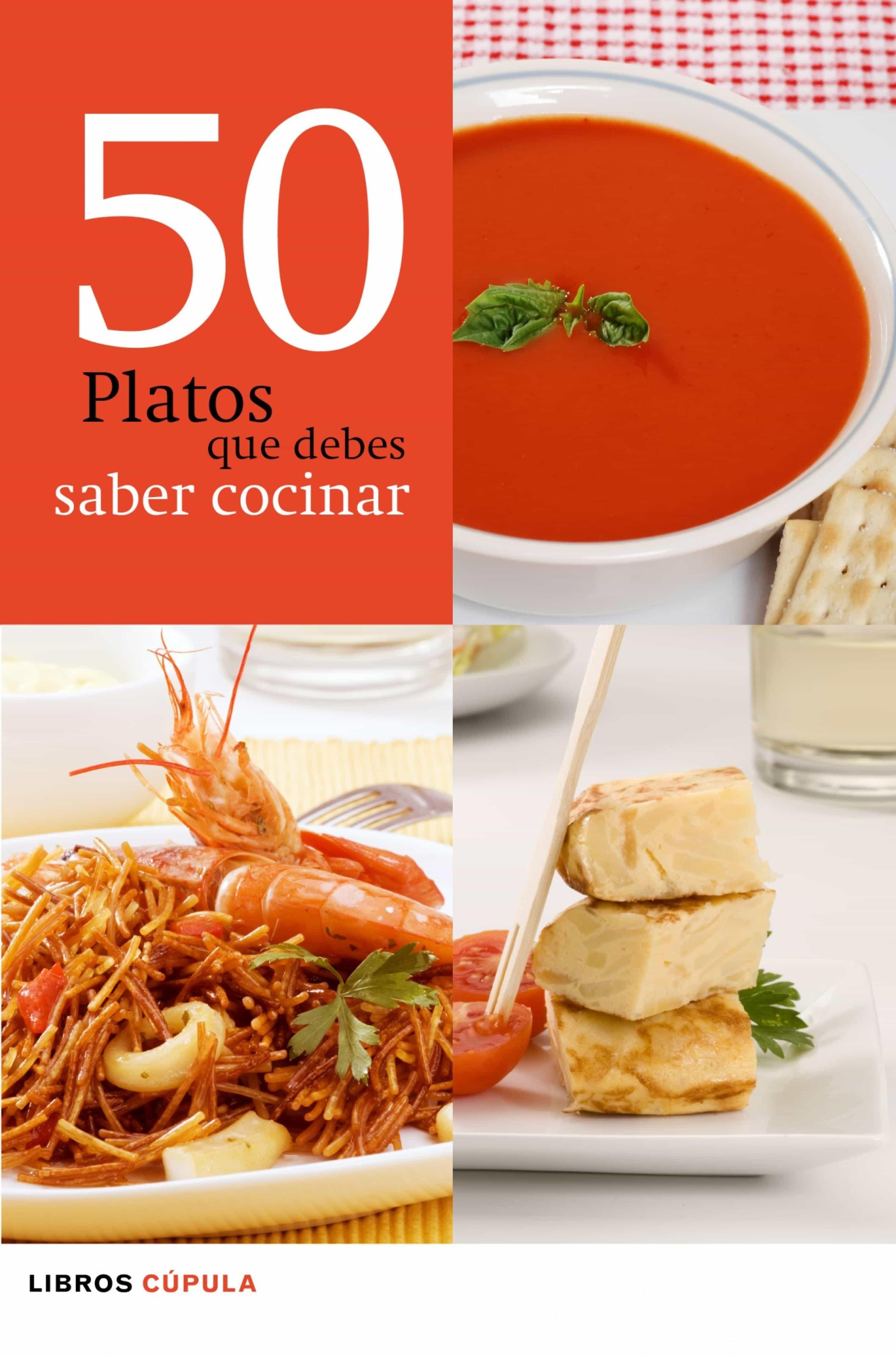 Charming 50 Platos Que Debes Saber Cocinar (ebook) 9788448069674